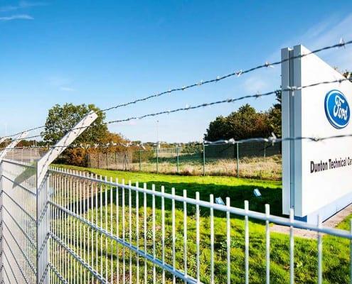 Pharoah Fencing Commercial Sector